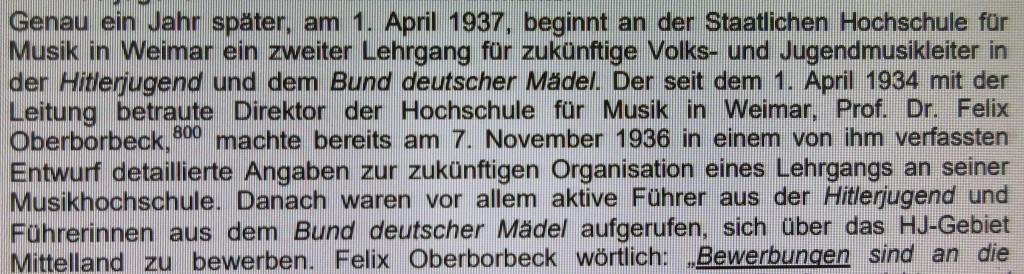 WeimarMusikNazizeit