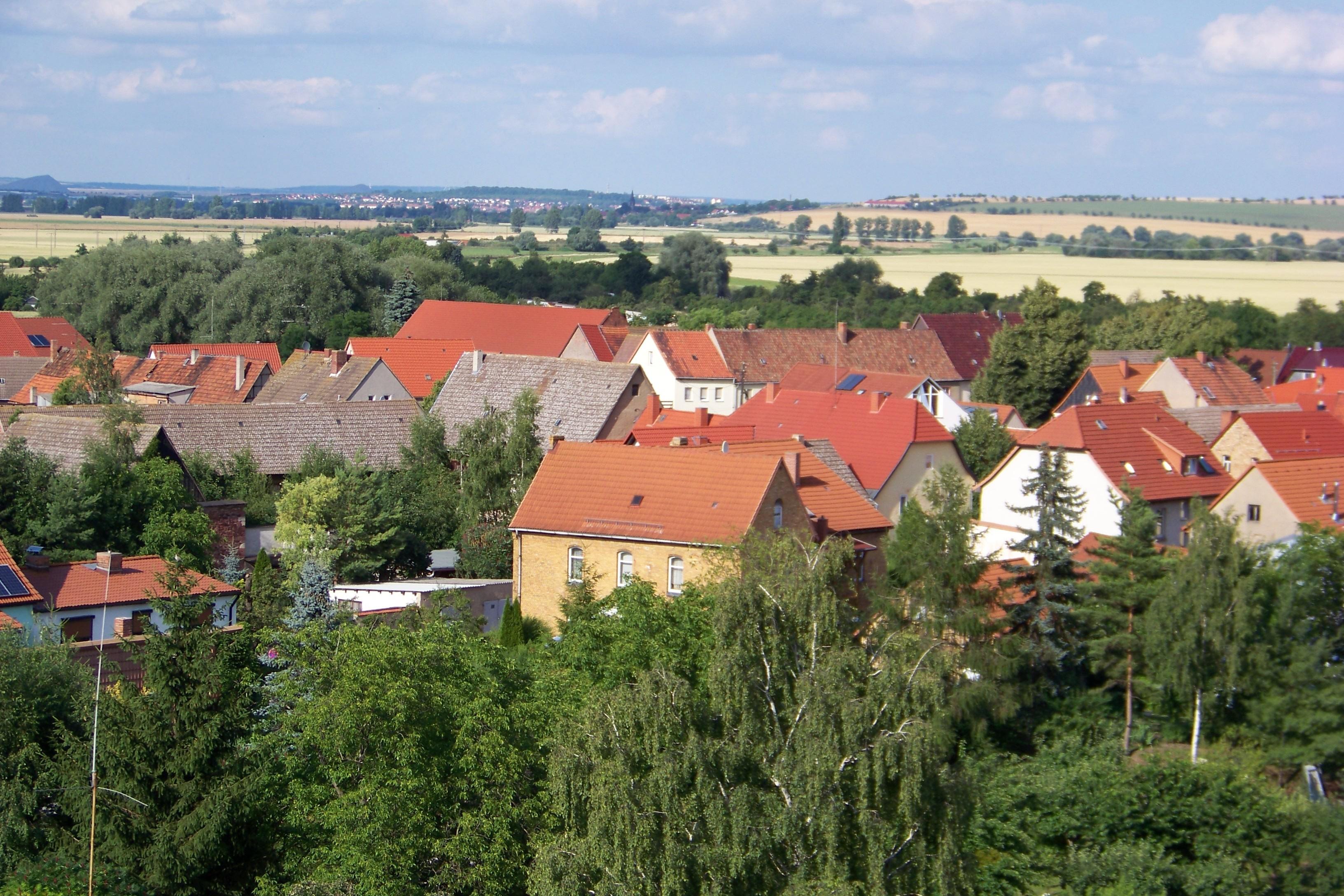 Blick auf Oldisleben