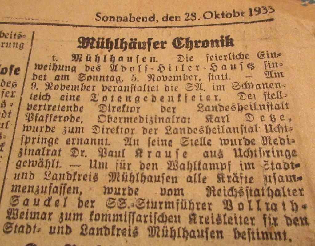 MühlhausenAdolfHitlerHaus33