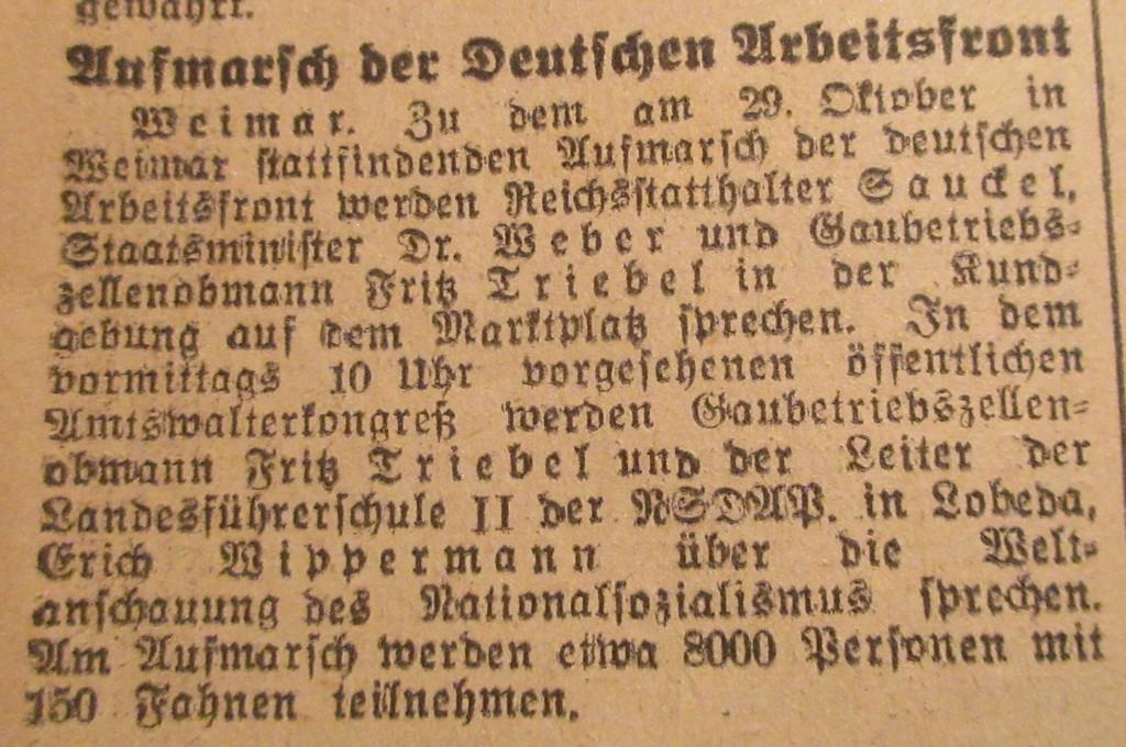 WeimarArbeitsfrontNazizeit