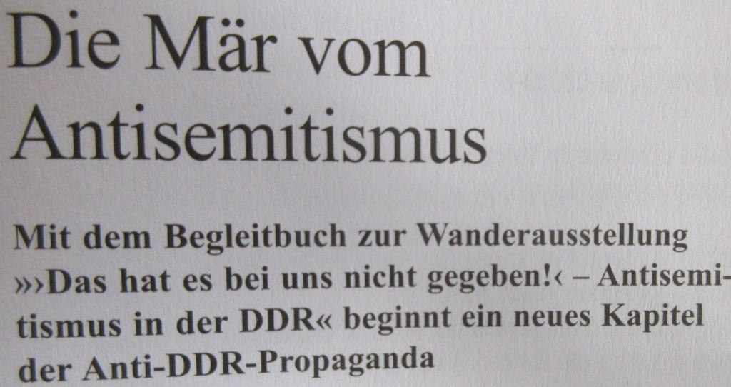 AntisemitismusDDRSpotless2