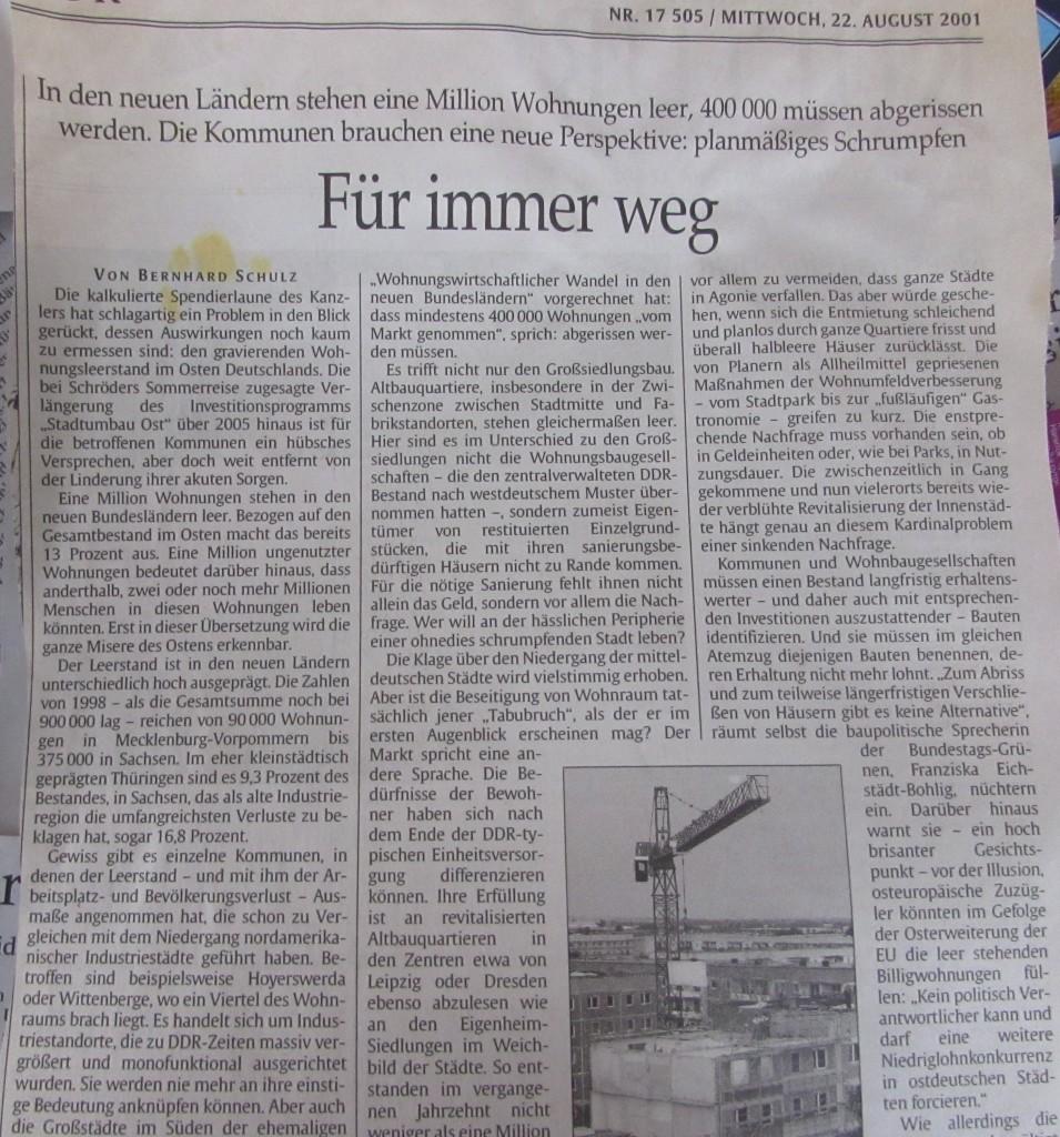 WohnungsabrißOstdeutschlandTaspi2001