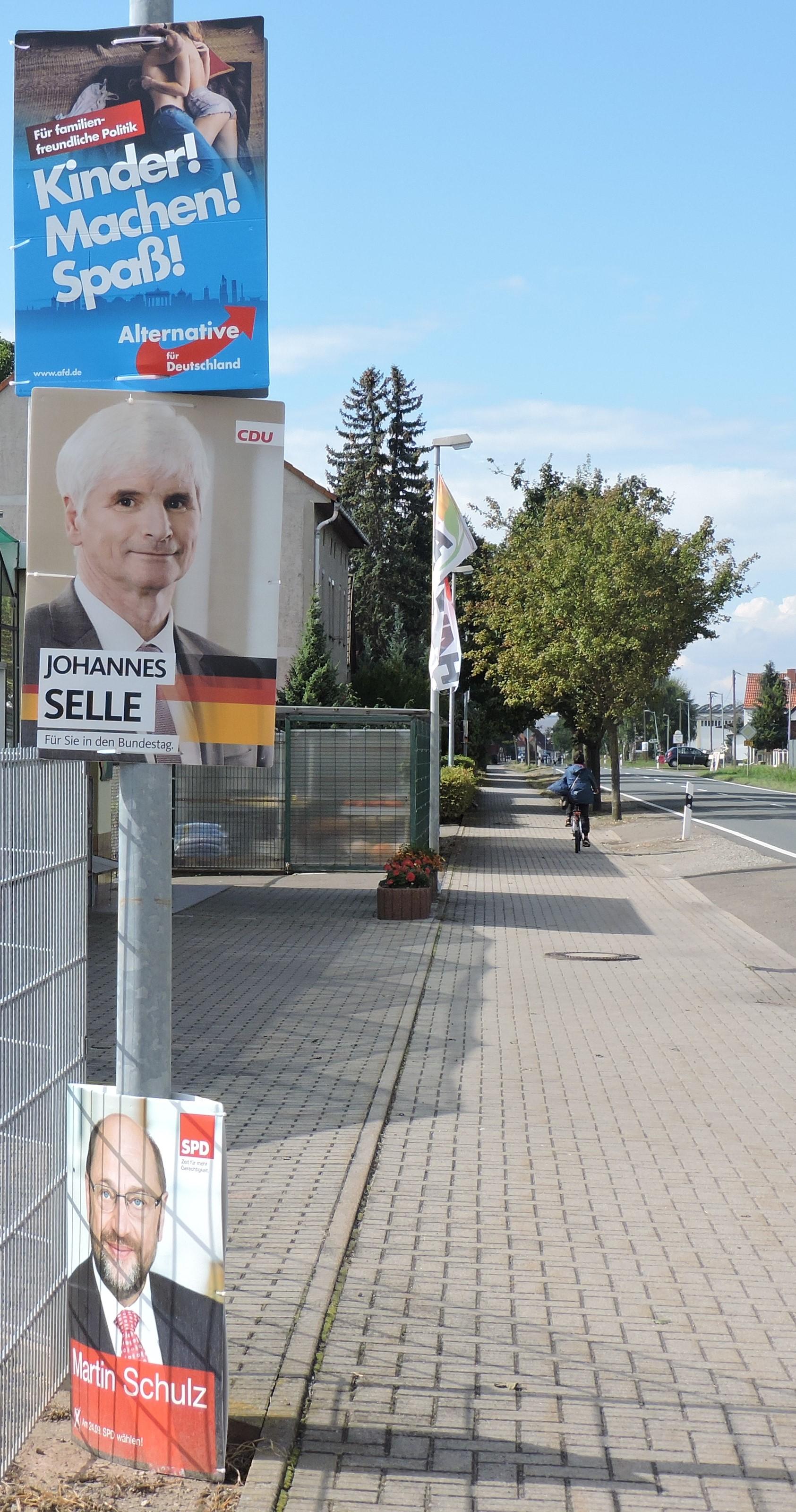 """Landtagswahl in Niedersachsen – Oktober 2017. """"Nach dem ..."""