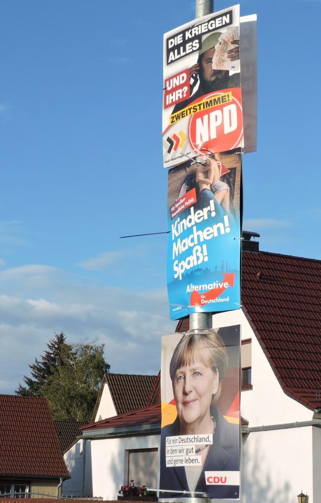WahlplakateCDUAfDNPD17
