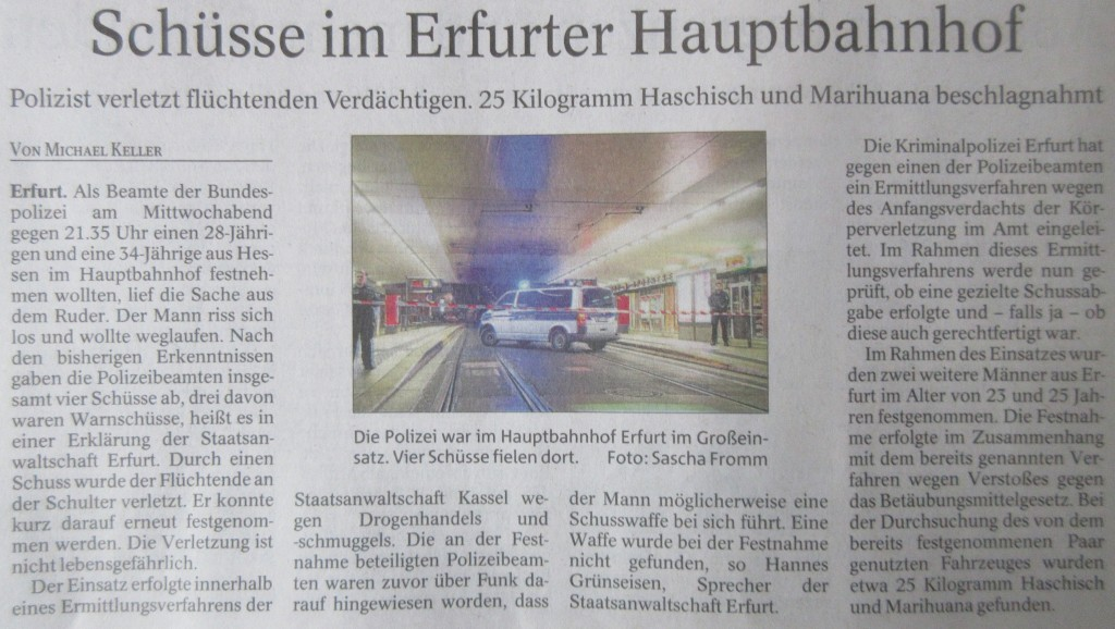 Erfurt HbfSchüsse17