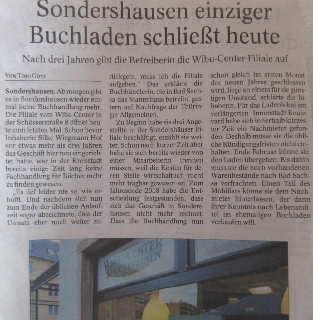 SondershausenBuchladen1