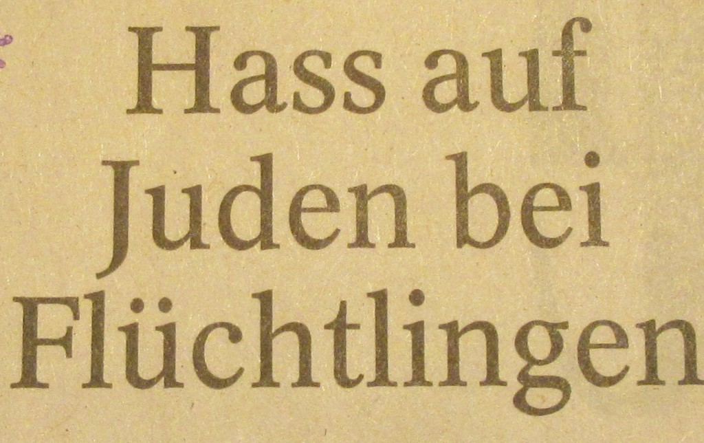JudenHassFlüchtlingeTA19