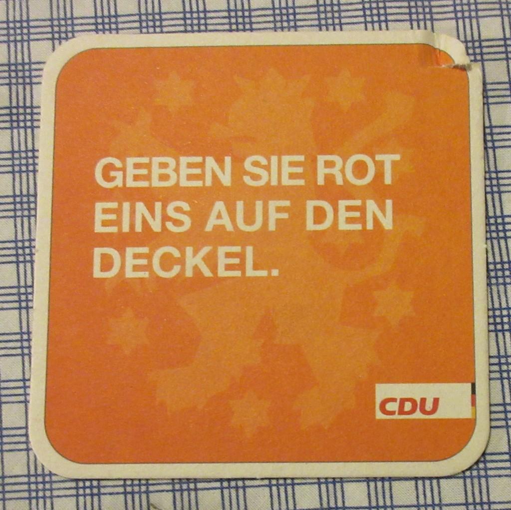 CDUBierdeckel