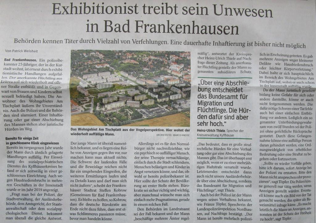 ExhibitionistBad Frankenhausen